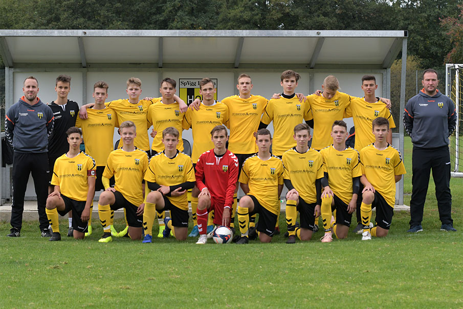 Mannschaftsbild U17